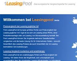 Suchmaschinenoptimierung für das erste europäische Vergleichsportal für Leasing