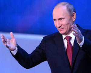 Wladimir Putin lädt Depardieu nach Russland ein. Quelle: news.qip.ru
