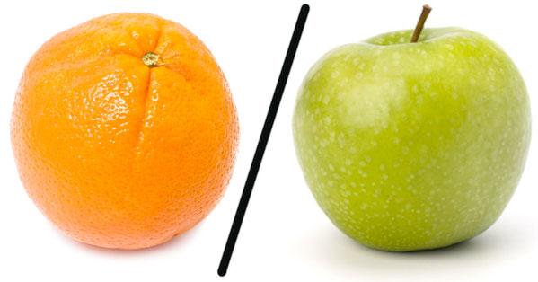 A/B Apple-Orange