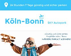 Webdesign und komplexes Internet-Marketing für einen Valetparking Service aus Köln
