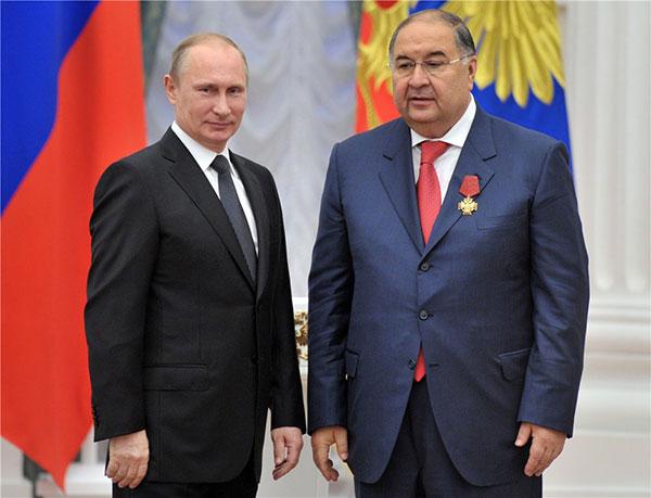 Wladimir Putin, Alischer Usmanow