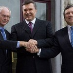 Der Ukraine-EU-Gipfel am 25 Februar 2013 in Brüssel. Janukowytschs Kurs auf die europäische Integration bestätigt