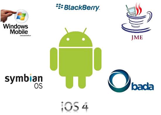 Betriebssysteme Smartphones