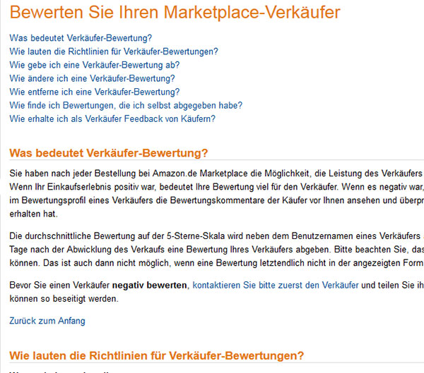 Bewertungen Amazon