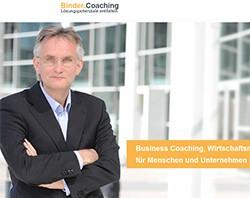 Responsive Webdesign auf WordPress-Basis für einen Unternehmens-Coach aus Köln