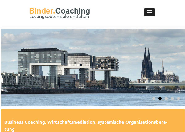 Binder Coaching Hamburger-Navi