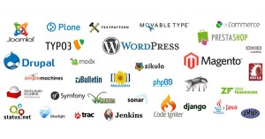 Diverse CMS Logos