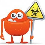 Ein JS/iFrame.BO.1 Virus beschädigt Content Management Systeme / WordPress