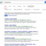 Duplicate Content in Online Shops durch Sortierung