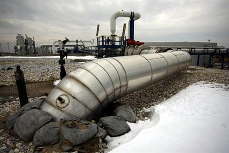 Gasleitungen Ukraine
