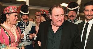 Gerard Depardieu in Russland