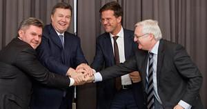 Janukowytsch, Rutte, Schiefergas.