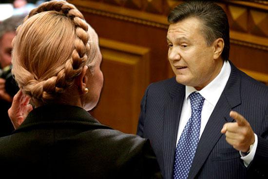 Janukowytsch Tymoschenko