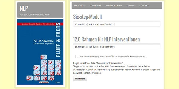Joern Kreische NLP WordPress Blog