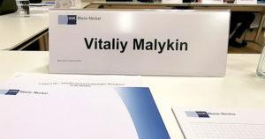 Vitaliy Malykin IHK Mannheim Vortrag 2019-09-23