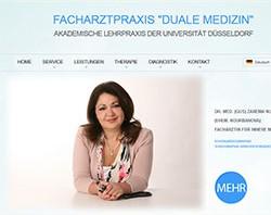 Erstellung einer mehrsprachigen Website und Suchmaschinenoptimierung für Medicus-Today