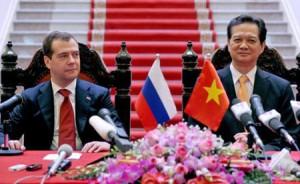 Dmitri Medwedew Vietnam