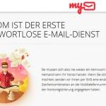 Mail.Ru startet neuen mobilen kennwortlosen E-Mail Service @my.com