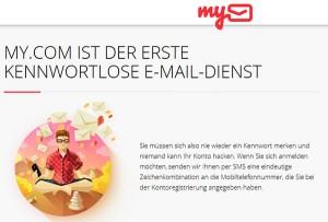 My.com kennwortlos