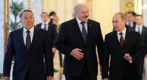 Nasarbajew, Lukaschenko, Putin