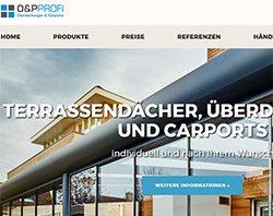 Webdesign, SEO und komplexes Internet-Marketing für einen Terrassenbauer-Fachbetrieb