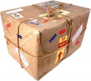 Pakete ausländischer Online Shops