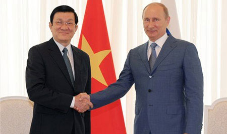 Wladimir Putin Vietnam