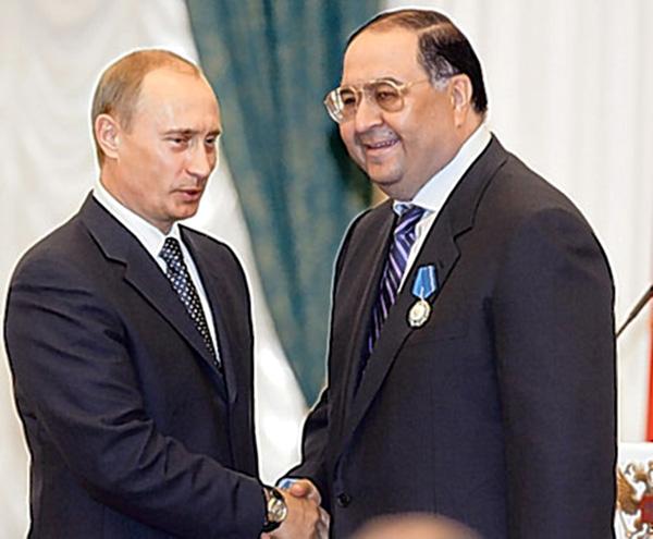 Putin, Usmanow