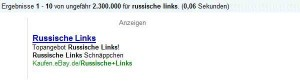 Russische Links bei Ebay