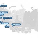 Top 100 der besten Städte in Russland 2013