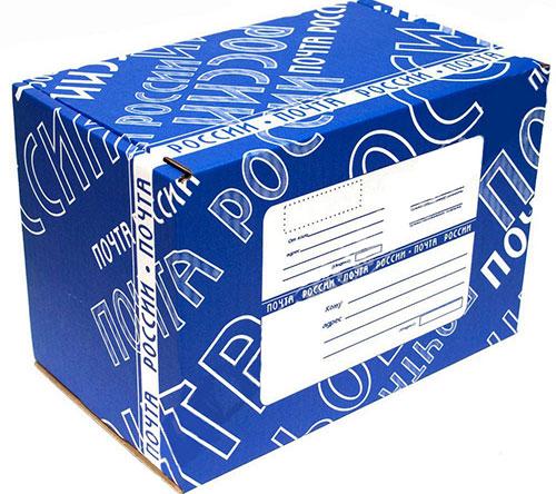 Russische Post Päckchen