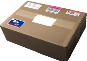 Russische Post Paket