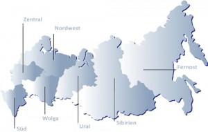 Russische Regionen