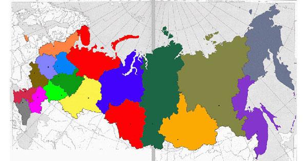 Russlands Regionen