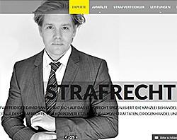 Webdesign und SEO für einen der progressivsten Strafverteidiger Kölns