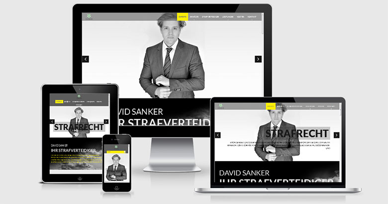Sanker-Office. Responsive Webdesign