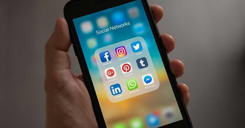 Sociale Netzwerke Traffic