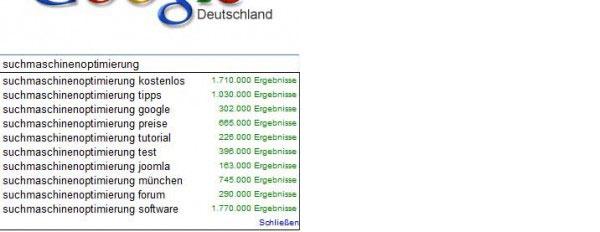 Suchmaschinenoptimierung kostenlos bei Google