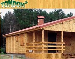 Webdesign und SEO für einen Hersteller von Ferienhäusern, Bungalows und Jagdhäusern aus Holz