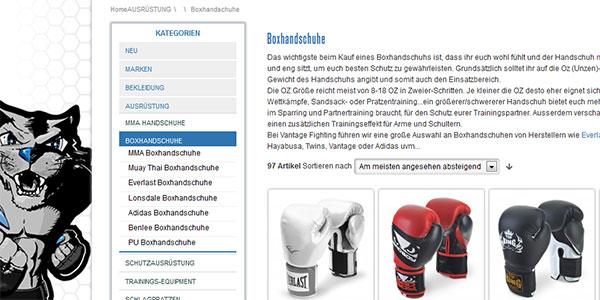 Vantage Boxhandschuhe