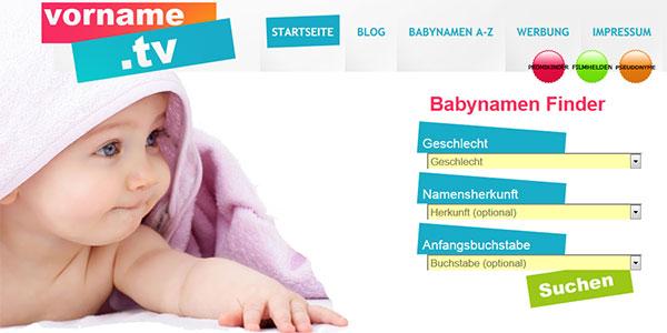 Babynamenfinder