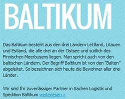 Webdesign und SEO für eine Kölner Spedition mit strategischer Ausrichtung ins Baltikum