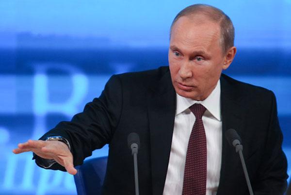Wladimir Putin. Astana 2014
