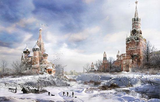 Ein postapokalyptisches Moskau. Yandex ohne Backlinks