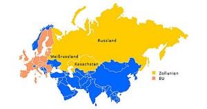 Zollunion zwischen Russland, Kasachstan und Weißrussland